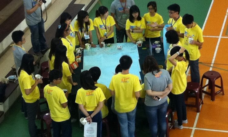 The American Institute in Taiwan (AIT) holds the AIT Youth Leadership Camp at the National Center for Traditional Arts in Yilan from September 3rd to 4th, 2013.