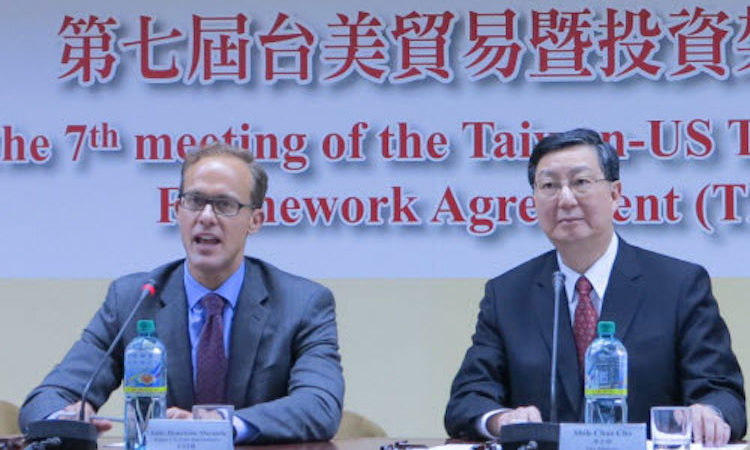 The U.S.-Taiwan Trade and Investment Framework Agreement (TIFA) is the core mechanism through which the United States and Taiwan explore ways to deepen our economic relationship. (Photo: AIT Images)