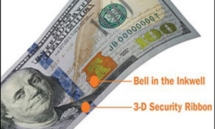 Redesigned $100 Note (Photo: www.newmoney.gov)