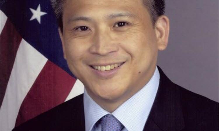AIT 處長梅健華 Kin W. Moy (任期: 2015 - 2018)