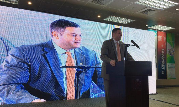 美國商務部主管製造業副助理部長史宜恩智慧城市首長高峰會演講