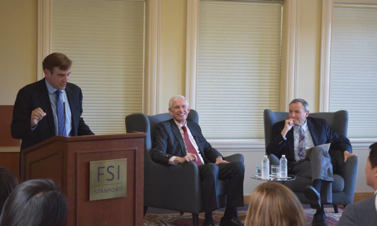 The United States and Taiwan: An Enduring Partnership, Remarks by AIT Chairman James Moriarty at Stanford University (Photo Credit: Stanford University)