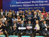 AIT Director Kin Moy at the Global Cooperation and Training Framework Enteroviruses Laboratory Diagnosis Workshop April 23, 2018