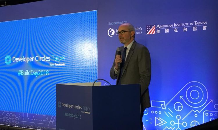 Remarks by AIT Deputy Director Raymond Greene at Facebook DevC Taipei Build Day 2018