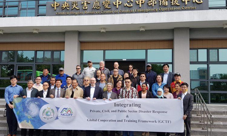 全球合作暨訓練架構(GCTF)人道救援及災難防救國際研習營於12月14日舉行