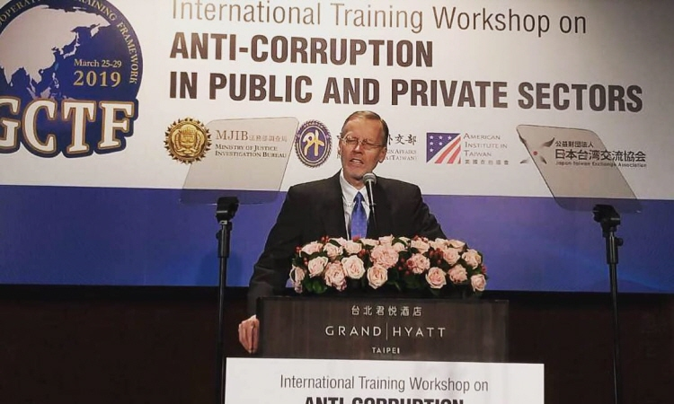 Remarks by AIT Director Brent Christensen at GCTF International Workshop on Anti-Corruption