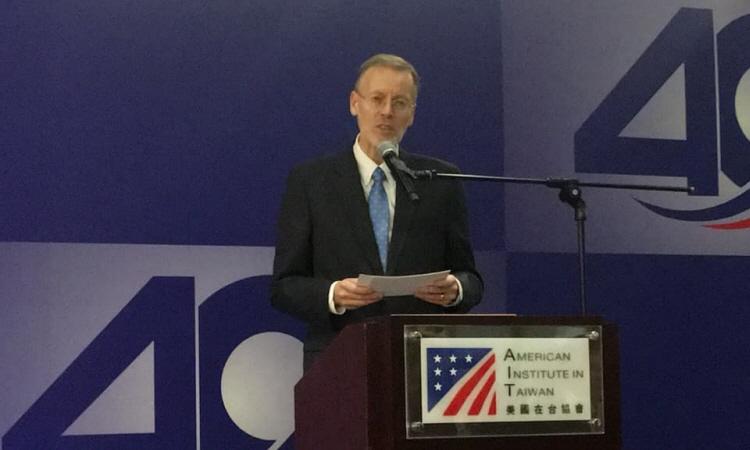 美國在台協會處長酈英傑 「台灣關係法 & AIT@40:40年友誼慶祝酒會」致詞