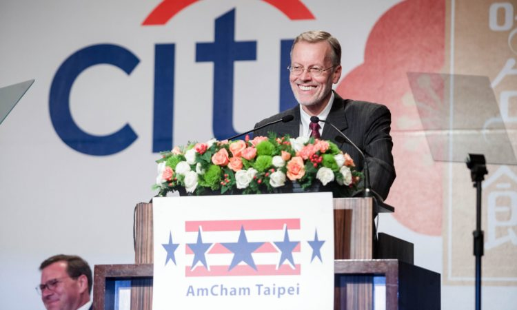 Remarks by AIT Director Brent Christensen at Hsieh Nien Fan (Photo Credits: AmCham Taipei)