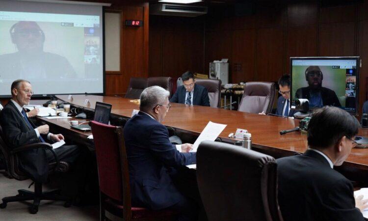 台美太平洋防疫援助線上對話
