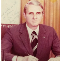 Former AIT Director James R. Lilley (Tenure: 1981 ~ 1984)