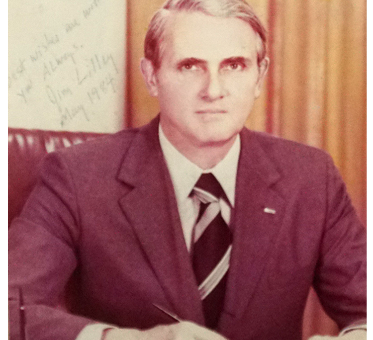 AIT Director James R. Lilley (Tenure: 1981 ~ 1984)