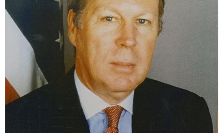 AIT 主席與處長 薄瑞光 Raymond Burghardt (主席任期: 2006 - 2016, 處長任期: 1999 - 2001)