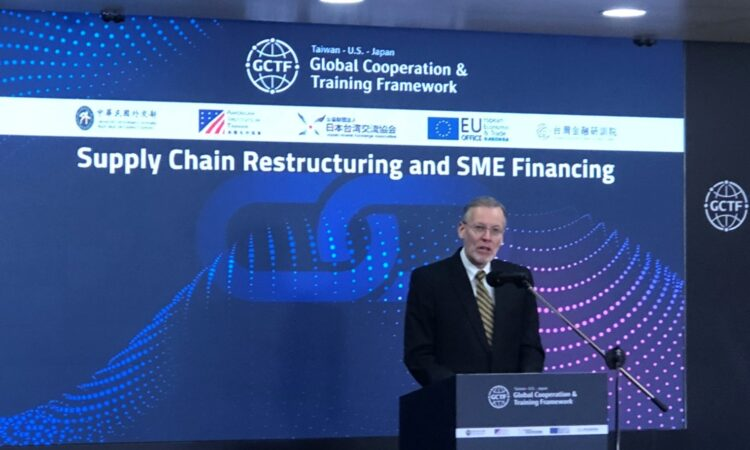 DIR at GCTF on supply chain restructuring and SME financing