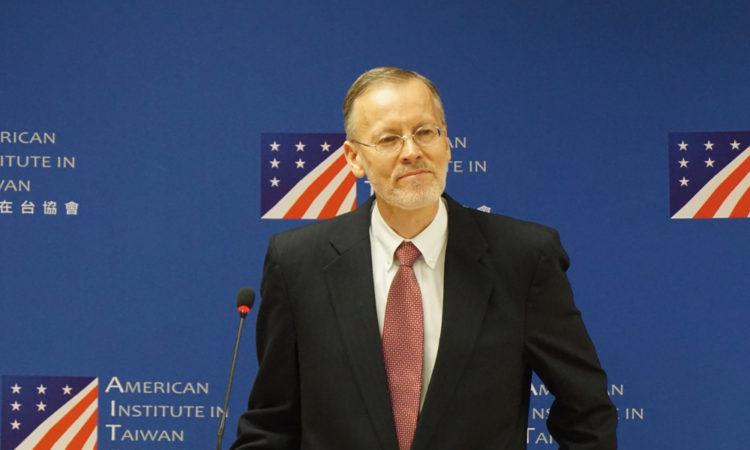 美國在台協會處長酈英傑記者會 2018年10月31日
