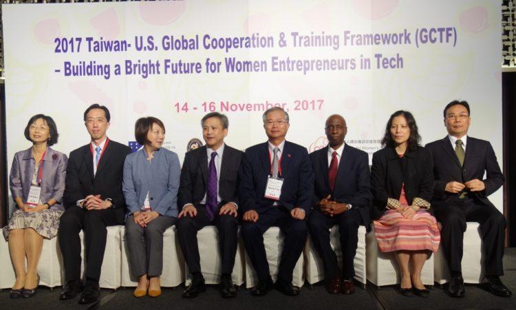 美國在台協會處長梅健華 全球合作暨訓練架構「打造女性科技創業新未來」工作坊開幕致詞