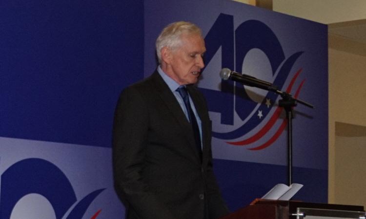 美國在台協會主席莫健大使於「台灣關係法 & AIT@40:40年友誼慶祝酒會」致詞