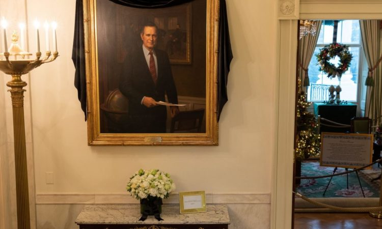 Remembering George H. W. Bush, 'One of America's Greatest Points of Light' (Image from the White House website)