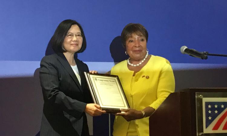 艾笛·伯尼斯·強森眾議員「台灣關係法 & AIT@40:40年友誼慶祝酒會」致詞講稿 | 2019年4月15日