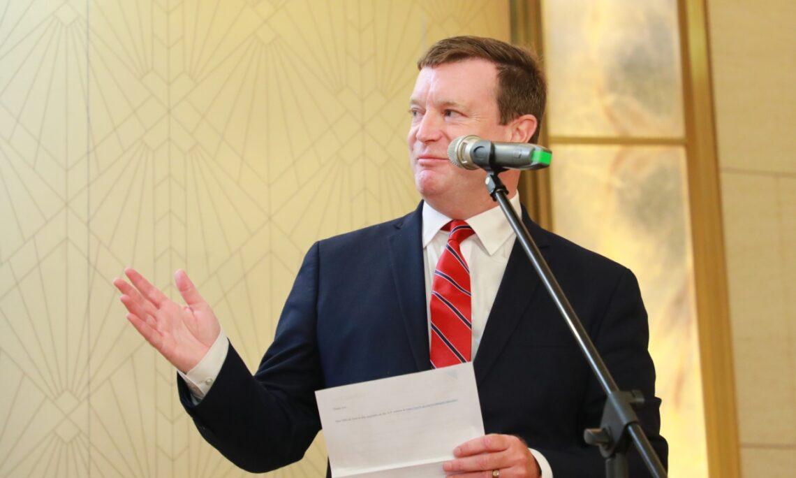 US Ambassador Hennessey-Niland