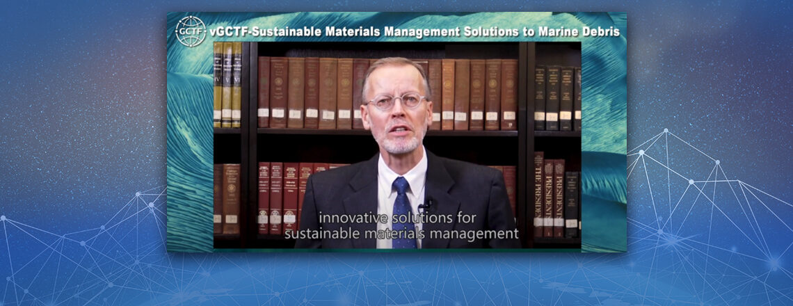 AIT Director Brent Christensen at the vGCTF: Sustainable Materials Management Solution