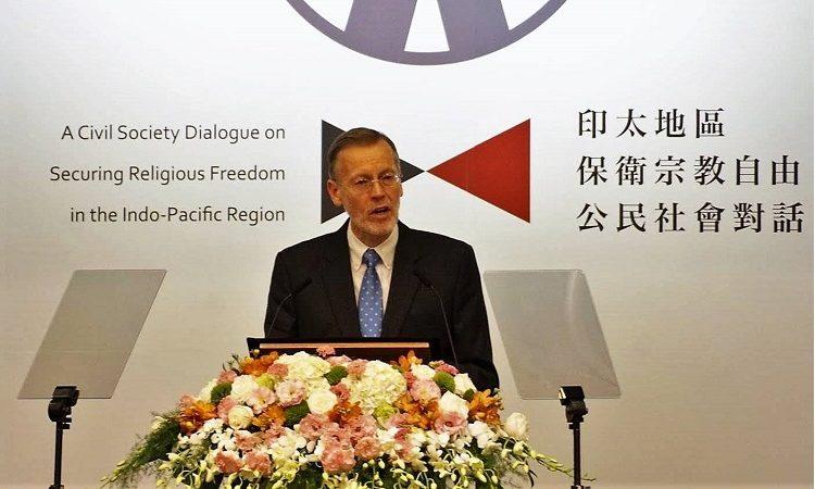 美國在台協會處長酈英傑 「印太區域保衛宗教自由公民社會對話」 2019年區域宗教自由論壇 開幕致詞