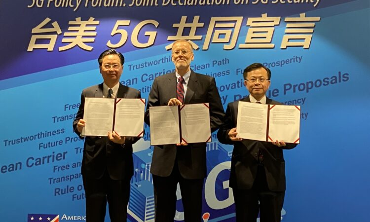 U.S.-Taiwan joint declaration on 5G security