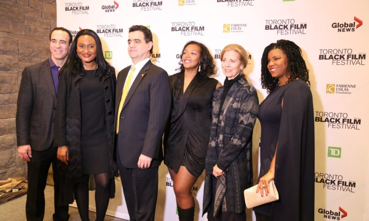 Toronto Consul General Alsace at the Toronto Black Film Festival. (Credit US Consulate Toronto)