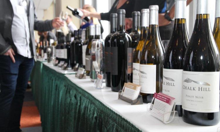 Wines at the California Wine Fair in Ottawa. (Credit US Embassy Ottawa)