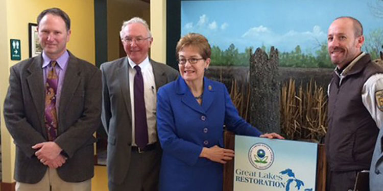 EPA announces 28 Great Lakes Restoration Initiative grants to protect the Great Lakes. (Credit EPA)