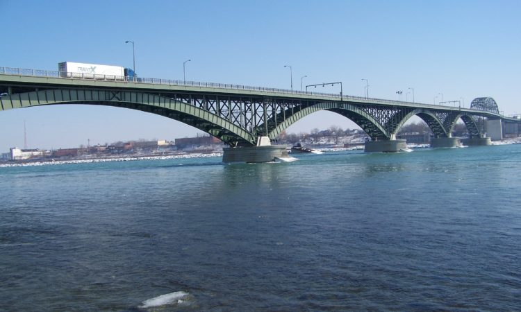 Peace Bridge (Credit Wikimedia Commons)