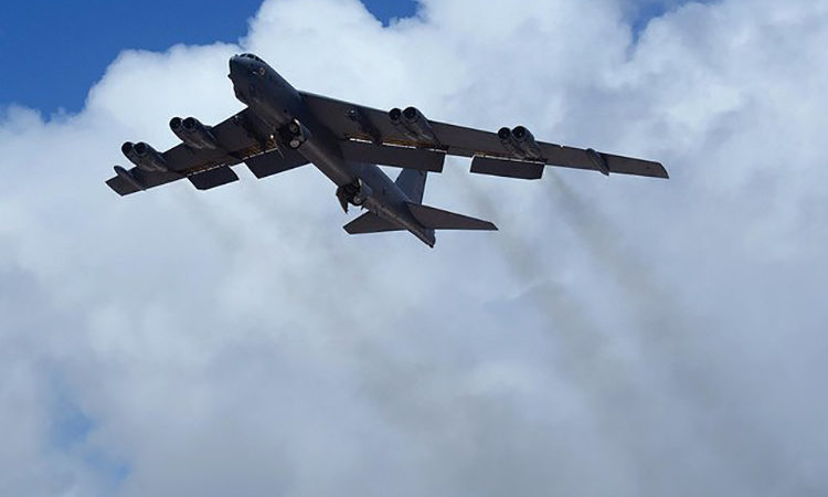 NORAD jet takes part in intercept exercises. (Credit NORAD)