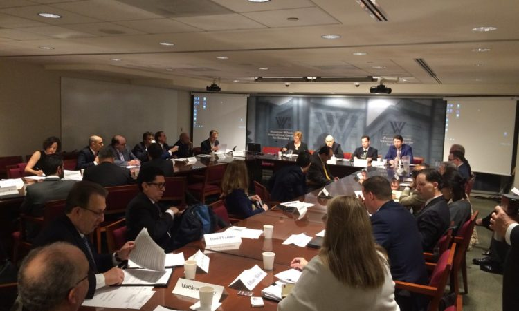 Participants in the Stakeholder Dialogue for the North American Leaders Summit. (Credit Twitter)