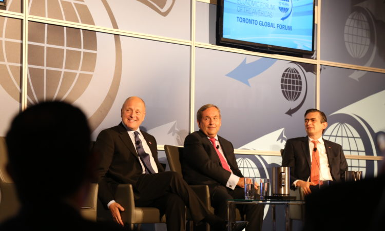 Ambassador Heyman at the Toronto Global Forum. (Credit US Consulate Toronto)