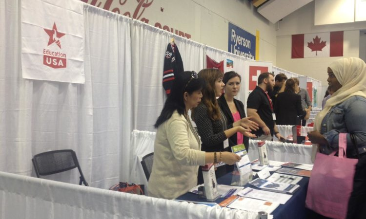 Go Global Expo in Toronto. Credit US Consulate Toronto.