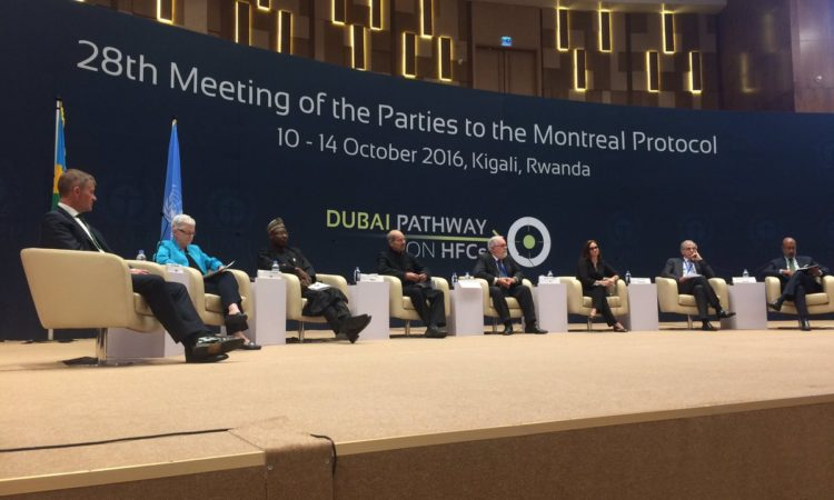 28th meeting of the parties of the Montreal Protocol. Credit EPA.