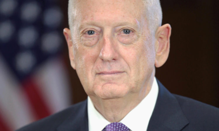 James Mattis Secretary of Defense