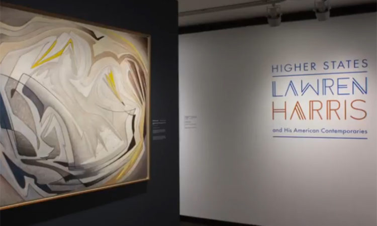 Higher States: Lawren Harris and His American Contemporaries at Toronto's McMichael Canadian Art Collection. Credit US Consulate Toronto.