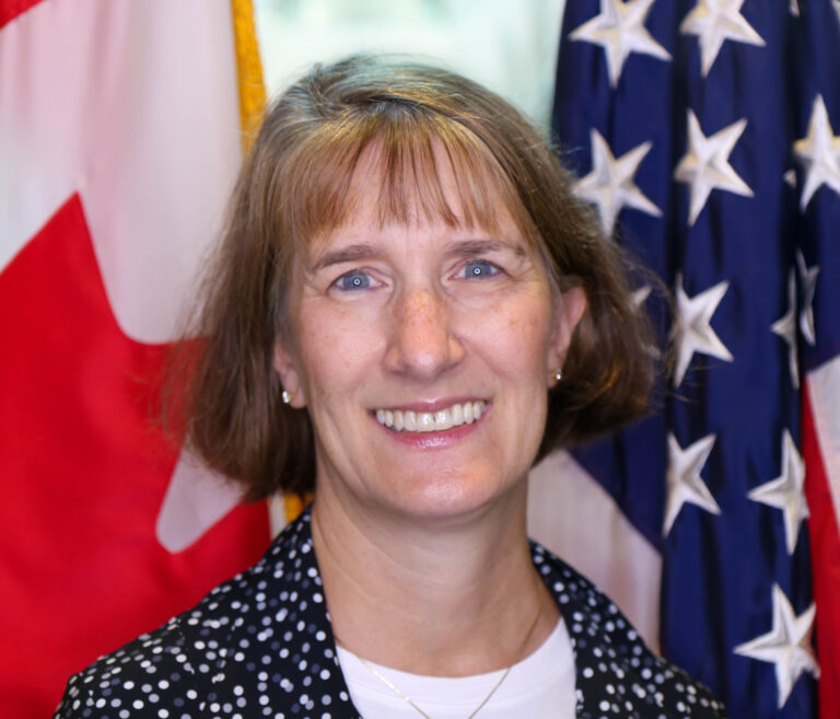 Photo of Chargé d'Affaires Katherine Brucker