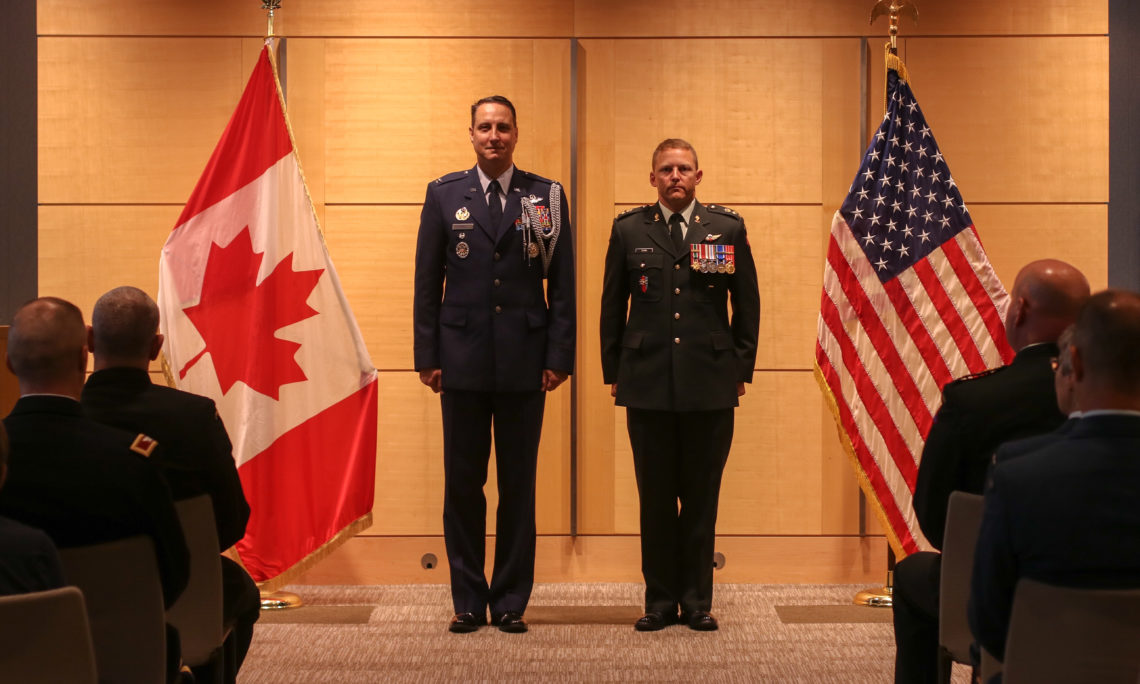 U S  Embassy Ottawa Honors Thirteen Canadian Armed Forces