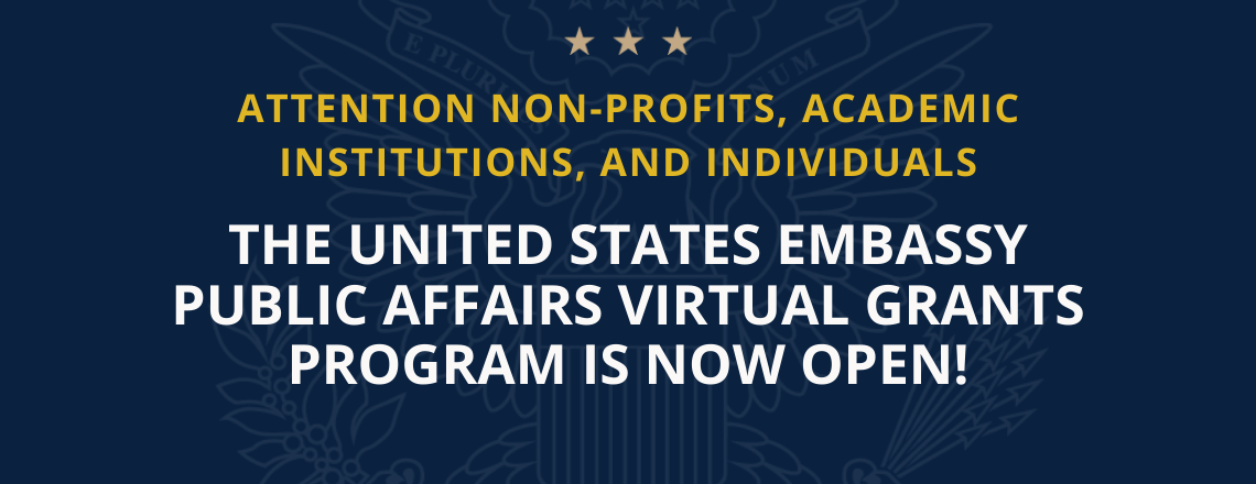 Click to learn about our Public Affairs Virtual Grants Program
