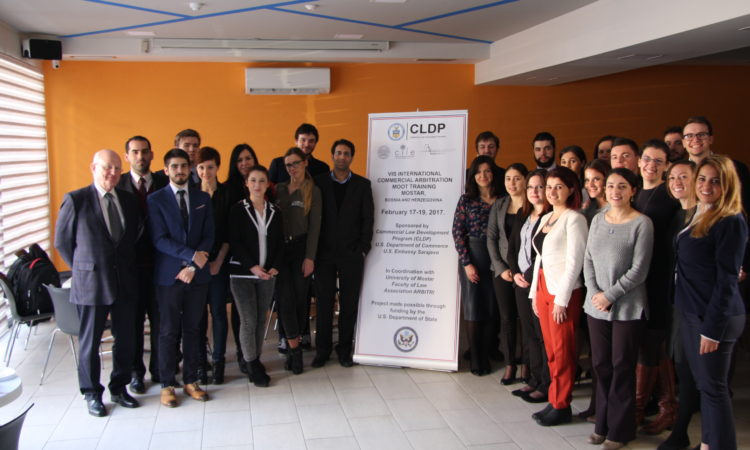 Commercial Law Development Program Arbitration Training in Mostar