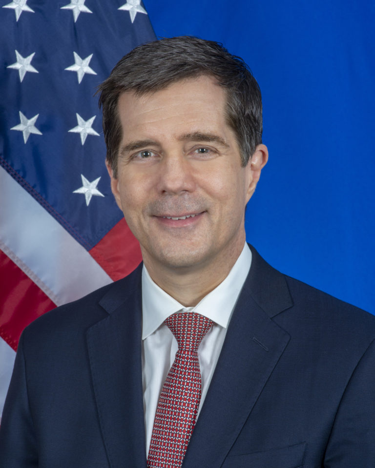 Photo of Ambassador Eric Nelson