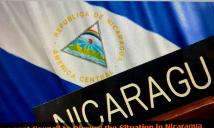 OAS Resolution Condemns Repression in Nicaragua.