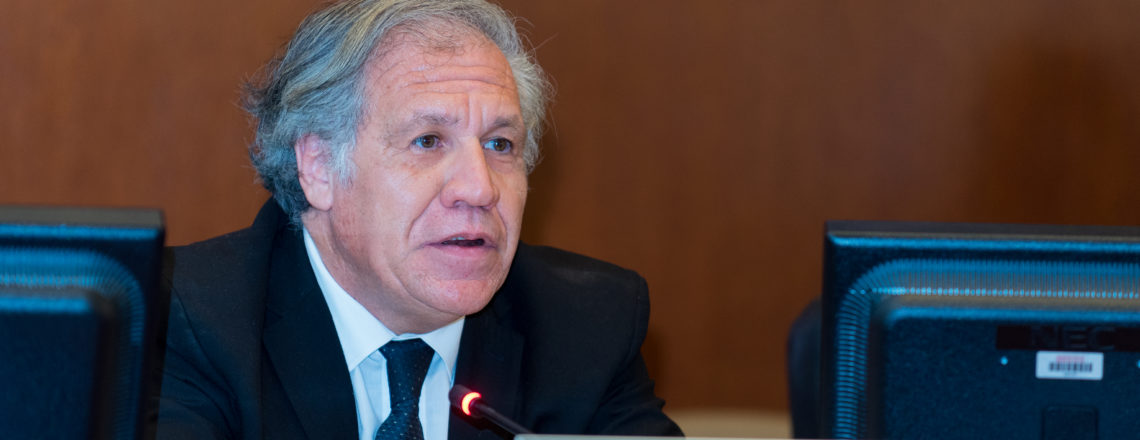 Re-election of Organization of American States Secretary General Luis Almagro