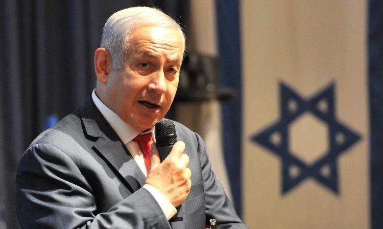 Israel's Prime Minister Benjamin Netanyahu addresses the ACE 9 conference, June 24, 2018. (OAS Photo)
