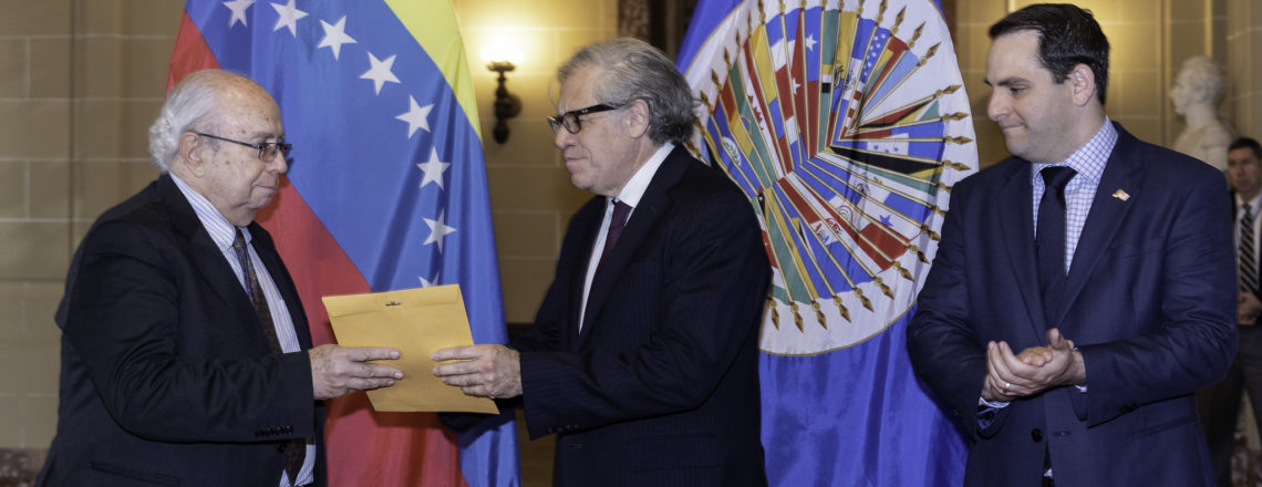 New Venezuelan Ambassador Presents Credentials