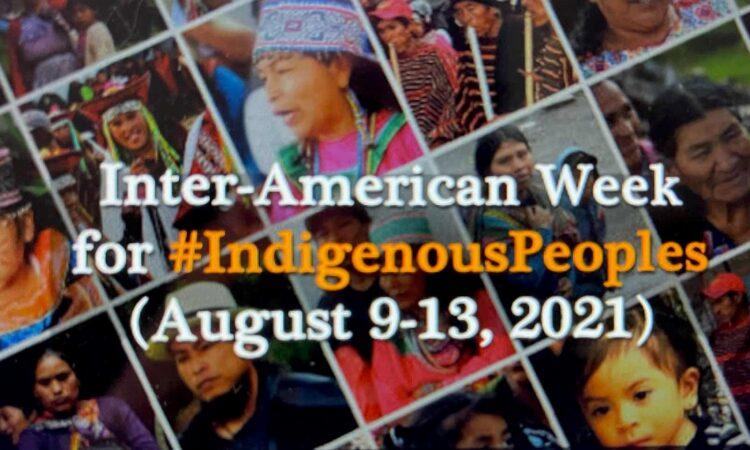 OAS Marks Inter-American Week for Indigenous Peoples.