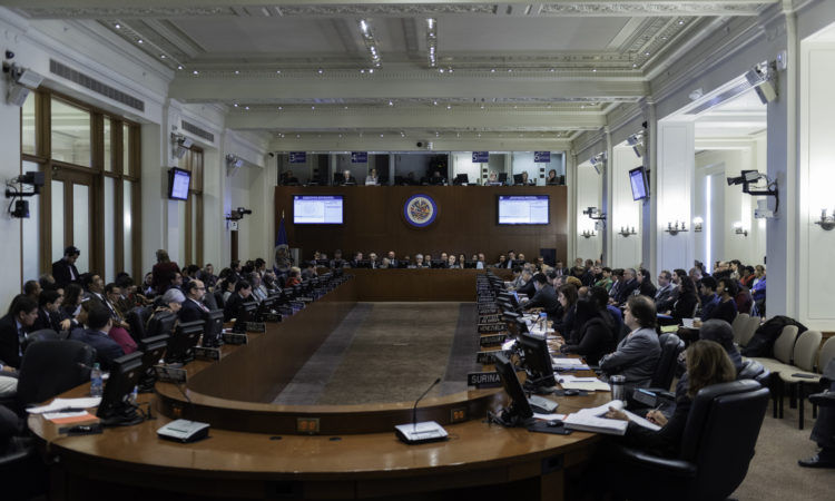 On January 11, 2019, the OAS Permanent Council met to consider the situation in Nicaragua. Ambassador Carlos Trujillo, U.S. Permanent Representative to the OAS, addressed the Council.