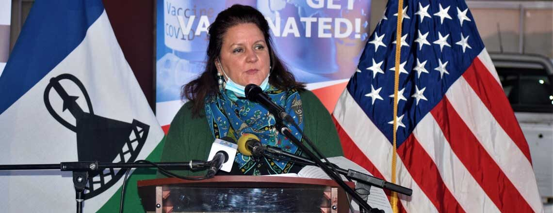 United States COVID-19 Vaccine Donation Arrives in Lesotho