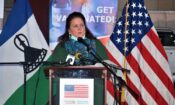 Ambassador Gonzales delivers remarks at the Official handover of USG Donated vaccines to Lesotho-750